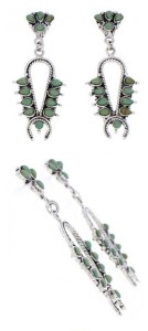 About Native American Turquoise Earrings