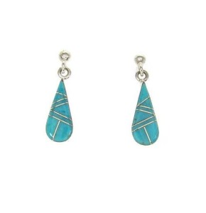 About Turquoise Drop Earrings