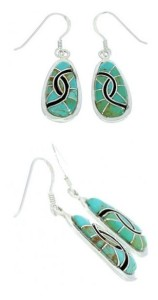 About Turquoise Dangle Earrings