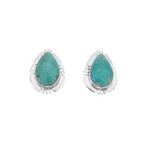 About Turquoise Teardrop Earrings